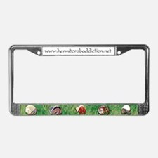 Hermit Crab Addiction License Plate Frame