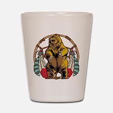 Bear Dream Catcher Shot Glass