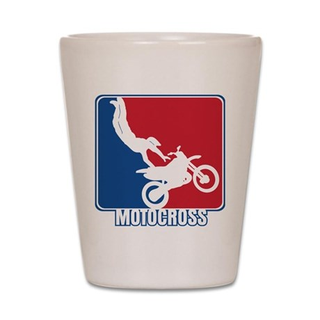Major League Motocross Shot Glass