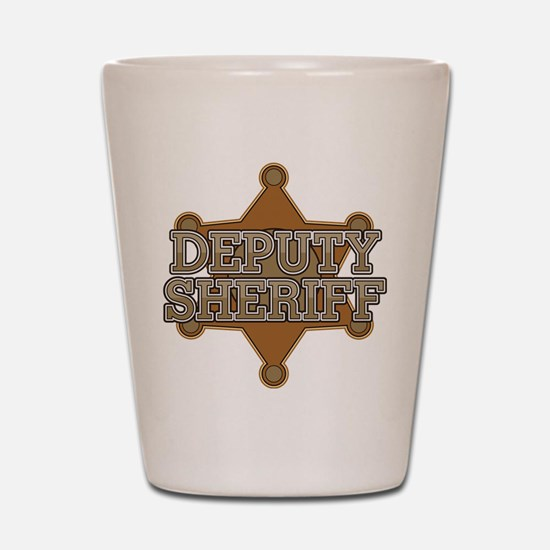 Deputy Sheriff Shot Glass