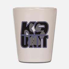 Police K9 Unit Paw Shot Glass