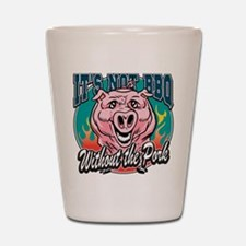BBQ Pork Shot Glass