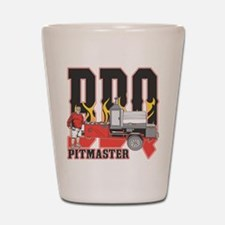 BBQ Pit master Shot Glass