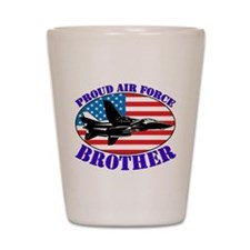 Cute Air brother force Shot Glass