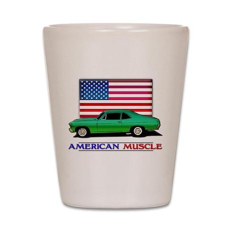 American Muscle Nova Shot Glass