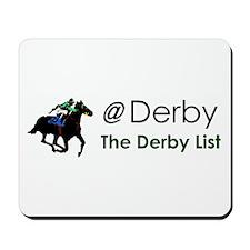 Derby List Mousepad