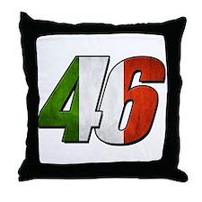 VR 46 Flag Throw Pillow