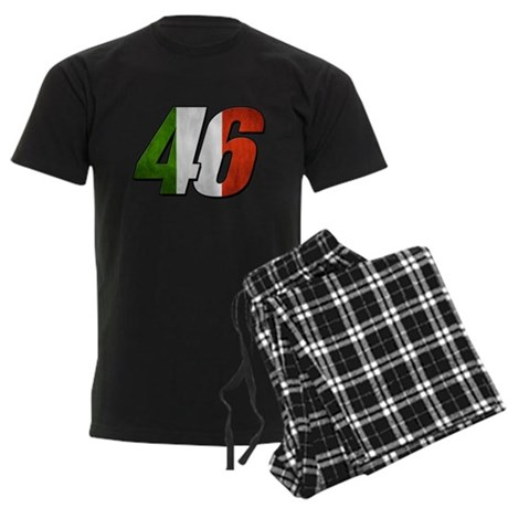 VR 46 Flag Men's Dark Pajamas