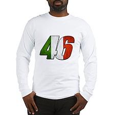 VR 46 Flag Long Sleeve T-Shirt