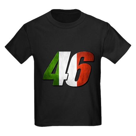 VR 46 Flag Kids Dark T-Shirt