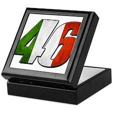 VR 46 Flag Keepsake Box