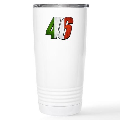 VR 46 Flag Stainless Steel Travel Mug