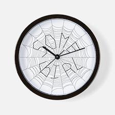 CW: Girl Wall Clock