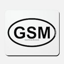 GSM - Great Smoky Mountains Mousepad