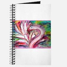 Flamingo, colorful, Journal