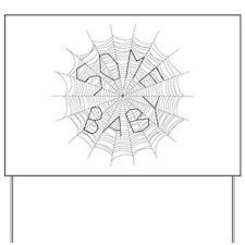 CW: Baby Yard Sign