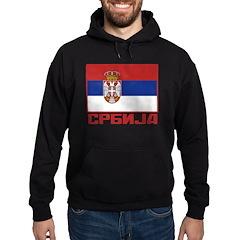 Flag of Serbia Hoodie