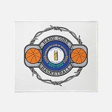 Kentucky Basketball Throw Blanket
