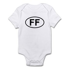 FF - Fire Fighter Infant Bodysuit