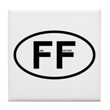 FF - Fire Fighter Tile Coaster