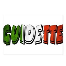 guidette flag 1 Postcards (Package of 8)