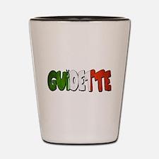 guidette flag 2 Shot Glass