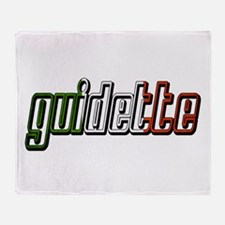 guidette flag 3 Throw Blanket