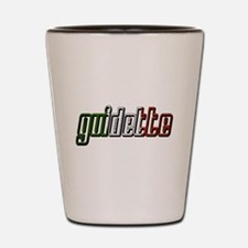 guidette flag 3 Shot Glass