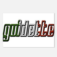 guidette flag 3 Postcards (Package of 8)