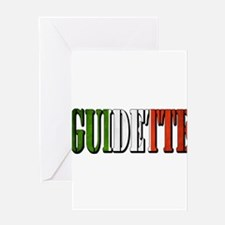 guidette flag 4 Greeting Card