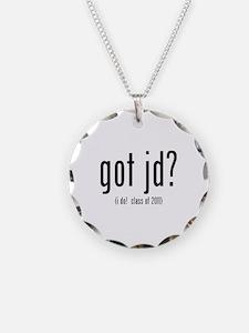 got jd? (i do! class of 2011) Necklace