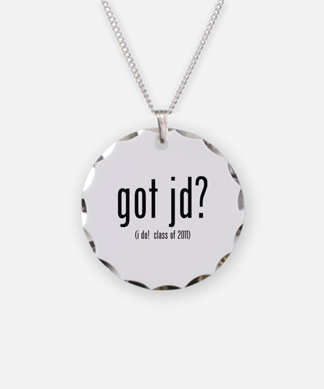 got jd? (i do! class of 2011) Necklace Circle Char