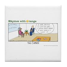 The Climate Tile Coaster