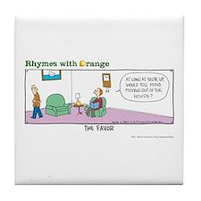 The Favor Tile Coaster