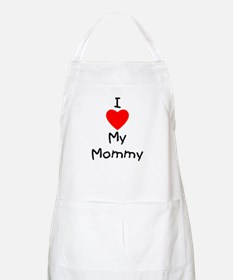 I love my mommy Apron
