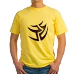 Tribal Switchback Yellow T-Shirt
