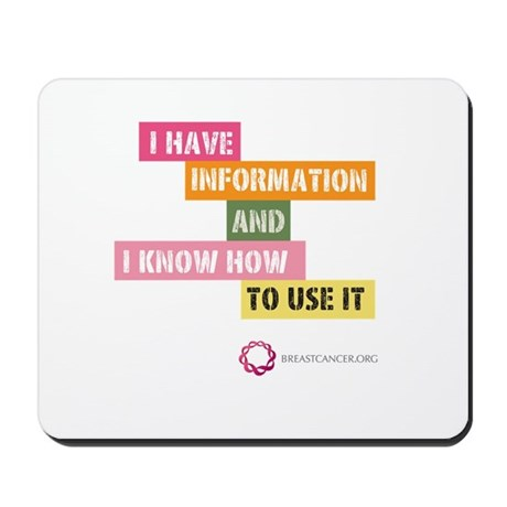 I Have Info Mousepad