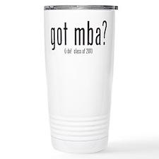 got mba? (i do! class of 2011) Travel Mug