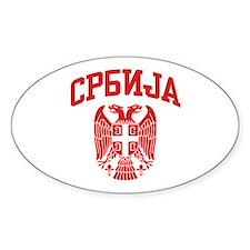 Serbia Decal