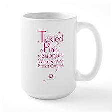 Tickled Pink Large Mug