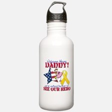 Welcome Home Daddy Water Bottle