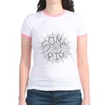 CW: Some Pig Jr. Ringer T-Shirt
