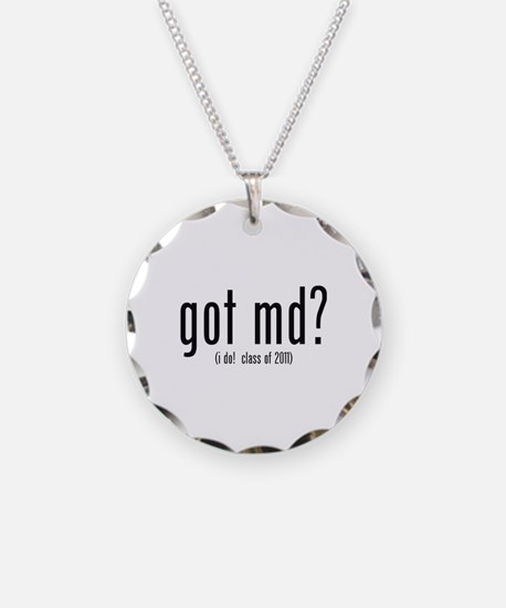 got md? (i do! class of 2011) Necklace