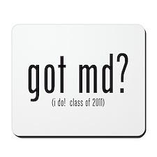 got md? (i do! class of 2011) Mousepad