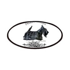 Scottish Terrier Profile Patches