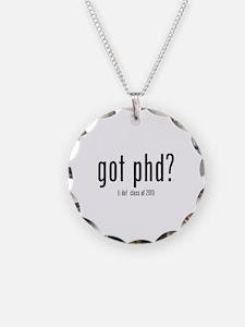 got phd? (i do! class of 2011) Necklace