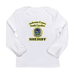 Anderson Sheriff Aviation Long Sleeve Infant T-Shi