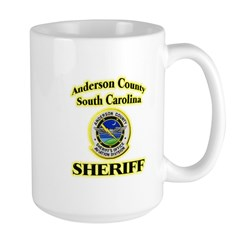 Anderson Sheriff Aviation Large Mug