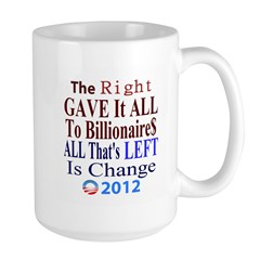 Right Gave To The Rich Mug