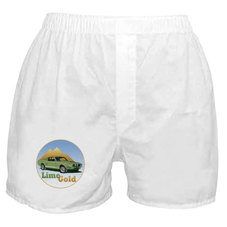The Lime Gold Boxer Shorts